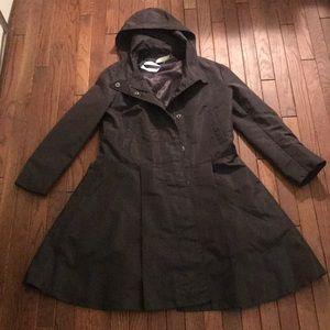 Prada rain jacket with hood